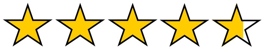 Afbeeldingsresultaat voor 4.75 stars