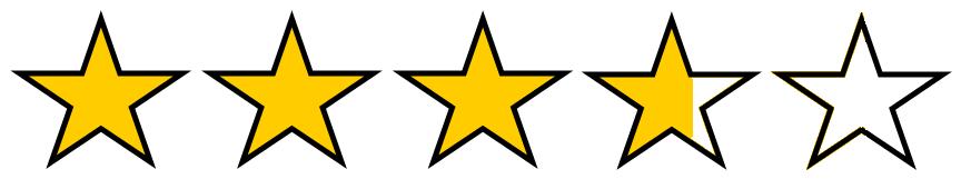 3.75 stars